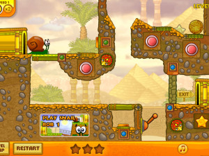 Онлайн игра Улитка Боб 3: Египет (Snail Bob 3: Egypt) (изображение №5)