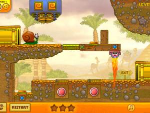 Онлайн игра Улитка Боб 3: Египет (Snail Bob 3: Egypt) (изображение №7)