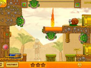 Онлайн игра Улитка Боб 3: Египет (Snail Bob 3: Egypt) (изображение №8)