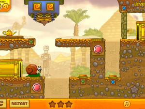Онлайн игра Улитка Боб 3: Египет (Snail Bob 3: Egypt) (изображение №9)