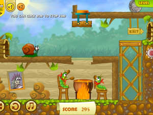 Онлайн игра Улитка Боб 2: Подарок дедушке (Snail Bob 2: Grandpa's Birthday) (изображение №10)