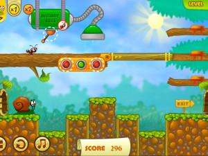 Онлайн игра Улитка Боб 2: Подарок дедушке (Snail Bob 2: Grandpa's Birthday) (изображение №9)