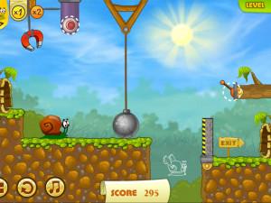 Онлайн игра Улитка Боб 2: Подарок дедушке (Snail Bob 2: Grandpa's Birthday) (изображение №6)