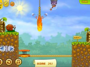 Онлайн игра Улитка Боб 2: Подарок дедушке (Snail Bob 2: Grandpa's Birthday) (изображение №3)