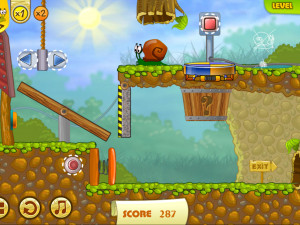 Онлайн игра Улитка Боб 2: Подарок дедушке (Snail Bob 2: Grandpa's Birthday) (изображение №2)