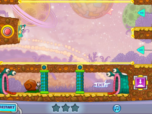 Онлайн игра Улитка Боб 4: Космос (Snail Bob 4: Space) (изображение №4)