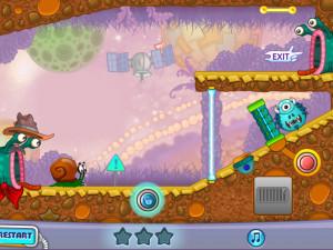 Онлайн игра Улитка Боб 4: Космос (Snail Bob 4: Space) (изображение №3)