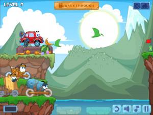 Онлайн игра Вилли 4: Путешествие во времени (Wheely 4: Time Travel) (изображение №14)