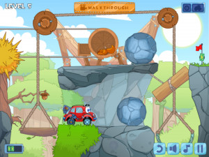 Онлайн игра Вилли 4: Путешествие во времени (Wheely 4: Time Travel) (изображение №11)