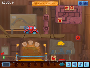 Онлайн игра Вилли 4: Путешествие во времени (Wheely 4: Time Travel) (изображение №9)