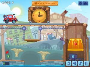Онлайн игра Вилли 4: Путешествие во времени (Wheely 4: Time Travel) (изображение №8)