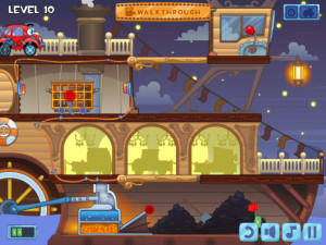 Онлайн игра Вилли 4: Путешествие во времени (Wheely 4: Time Travel) (изображение №7)