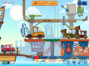 Онлайн игра Вилли 4: Путешествие во времени (Wheely 4: Time Travel) (изображение №6)