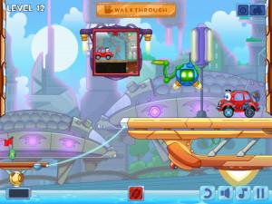 Онлайн игра Вилли 4: Путешествие во времени (Wheely 4: Time Travel) (изображение №3)