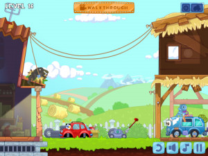 Онлайн игра Вилли 4: Путешествие во времени (Wheely 4: Time Travel) (изображение №17)