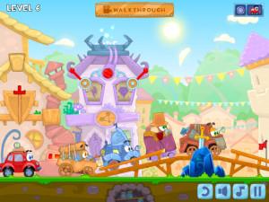 Онлайн игра Вилли 6: Сказка (Wheely 6: Fairytale) (изображение №13)