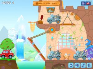 Онлайн игра Вилли 6: Сказка (Wheely 6: Fairytale) (изображение №12)