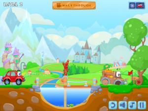 Онлайн игра Вилли 6: Сказка (Wheely 6: Fairytale) (изображение №10)