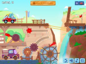 Онлайн игра Вилли 6: Сказка (Wheely 6: Fairytale) (изображение №4)