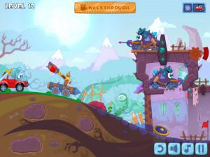 Онлайн игра Вилли 6: Сказка (Wheely 6: Fairytale) (изображение №3)