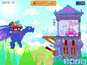Онлайн игра Вилли 6: Сказка (Wheely 6: Fairytale) (изображение №2)