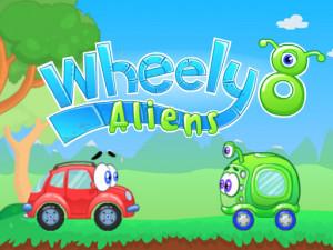 Онлайн игра Вилли 8: Пришельцы (Wheely 8: Aliens) (изображение №1)