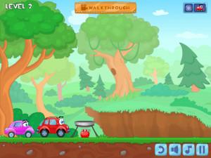 Онлайн игра Вилли 8: Пришельцы (Wheely 8: Aliens) (изображение №12)