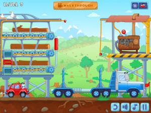Онлайн игра Вилли 8: Пришельцы (Wheely 8: Aliens) (изображение №6)