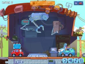 Онлайн игра Вилли 8: Пришельцы (Wheely 8: Aliens) (изображение №5)