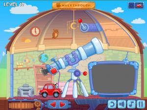 Онлайн игра Вилли 8: Пришельцы (Wheely 8: Aliens) (изображение №2)