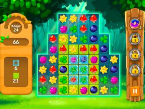 Онлайн игра Три в ряд в лесу (Forest Match) (изображение №3)