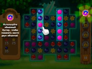 Онлайн игра Три в ряд в лесу (Forest Match) (изображение №7)