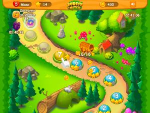 Онлайн игра Три в ряд в лесу (Forest Match) (изображение №5)