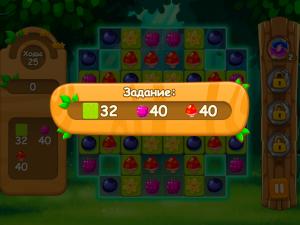 Онлайн игра Три в ряд в лесу (Forest Match) (изображение №6)