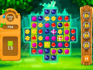 Онлайн игра Три в ряд в лесу (Forest Match) (изображение №4)