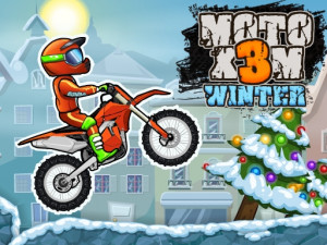 Онлайн игра Мото Х3М 4: Зима (Moto X3M 4: Winter) (изображение №1)
