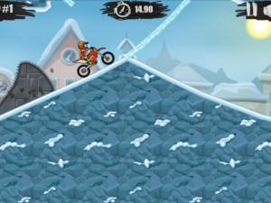 Онлайн игра Мото Х3М 4: Зима (Moto X3M 4: Winter) (изображение №11)