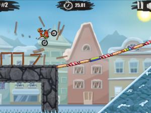 Онлайн игра Мото Х3М 4: Зима (Moto X3M 4: Winter) (изображение №8)