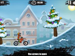 Онлайн игра Мото Х3М 4: Зима (Moto X3M 4: Winter) (изображение №7)