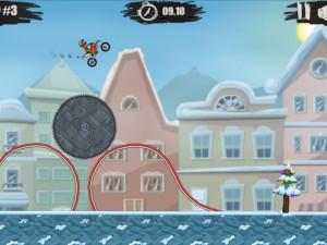 Онлайн игра Мото Х3М 4: Зима (Moto X3M 4: Winter) (изображение №6)