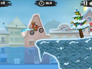 Онлайн игра Мото Х3М 4: Зима (Moto X3M 4: Winter) (изображение №5)