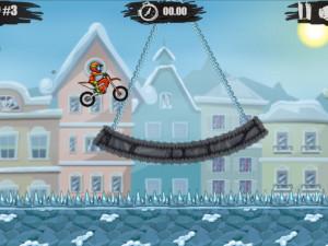 Онлайн игра Мото Х3М 4: Зима (Moto X3M 4: Winter) (изображение №3)