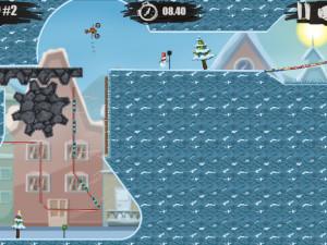 Онлайн игра Мото Х3М 4: Зима (Moto X3M 4: Winter) (изображение №2)
