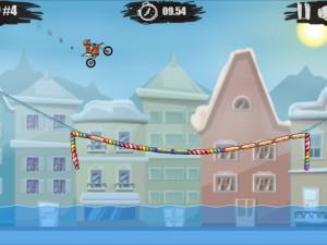 Онлайн игра Мото Х3М 4: Зима (Moto X3M 4: Winter) (изображение №12)