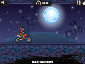 Онлайн игра Мото Х3М: Хэллоуин (Moto X3M: Spooky Land) (изображение №13)