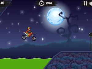 Онлайн игра Мото Х3М: Хэллоуин (Moto X3M: Spooky Land) (изображение №11)