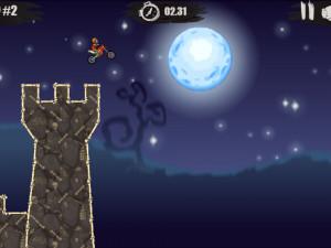 Онлайн игра Мото Х3М: Хэллоуин (Moto X3M: Spooky Land) (изображение №10)