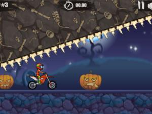 Онлайн игра Мото Х3М: Хэллоуин (Moto X3M: Spooky Land) (изображение №8)