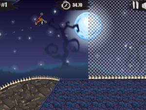Онлайн игра Мото Х3М: Хэллоуин (Moto X3M: Spooky Land) (изображение №6)
