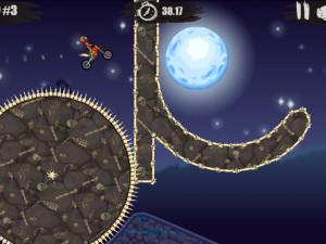 Онлайн игра Мото Х3М: Хэллоуин (Moto X3M: Spooky Land) (изображение №5)